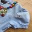 Blue Denim Dress Lady Ribbon เดรสผ้าเดนิม thumbnail 5