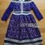 Dress เดรสผ้าลูกไม้ติดปกเสื้อสไตล์สาวเพรพพี้ thumbnail 5