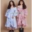 Cotton Dress Lady Ribbon เดรสผ้าลายทาง thumbnail 1