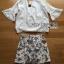 Lady Ribbon Online ขายส่งเสื้อผ้าออนไลน์ Lady Ribbon พร้อมส่ง LR07040816 &#x1F380 Lady Ribbon's Made &#x1F380 Lady Angie Cut-Out Embroidered Lace Cotton Top and Printed Skirt Set เซ็ตเสื้อคอตตอน thumbnail 4