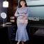 Sweet Lace Dress Lady Ribbon เดรสผ้าลูกไม้ thumbnail 4