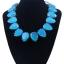 y1476 - สร้อยหิน สร้อยคอ สร้อยหินนำโชค เครื่องประดับ crystal clavicle Ms. necklace thumbnail 1