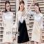 Lace Dress เดรสผ้าลูกไม้สีขาว thumbnail 1