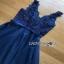 Tulle Cocktail Dress Lady Ribbon ค็อกเทลเดรสผ้าทูลเล thumbnail 7