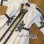 Lady Ribbon Online ขายส่งเสื้อผ้าออนไลน์ ขายส่งของแท้พร้อมส่ง Lady Ribbon LR20250716 &#x1F380 Lady Ribbon's Made &#x1F380 Lady Joanna Vintage Boho Embroidered Cotton thumbnail 5