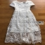 Lady Megan Sweet Feminine White Lace Maxi Dress thumbnail 9