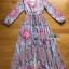 Lady Ribbon Maxi Dress เดรสยาวผ้าเครปสีฟ้า thumbnail 7