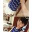 เสื้อแฟชั่นเกาหลีแขนกุดต่อด้วยผ้าตาข่ายสีขาวชายเสื้อมีซิปหลัง แต่งลายริ้ว สีดำ thumbnail 4