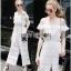 Lady Ribbon Michelle Pure White Lace Jumpsuit thumbnail 1