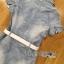 Lady Ribbon Online ขายส่ง เสื้อผ้าออนไลน์ ของแท้ ราคาถูกพร้อมส่ง เลดี้ริบบอน LR09140716 &#x1F380 Lady Ribbon's Made &#x1F380 Chanel White Lace Denim Shirt Dress with Belt thumbnail 6