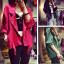 เสื้อแจ็คเก็ต/คาร์ดิแกนแฟชั่นแขนยาว มี 3 สี thumbnail 1