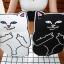 เคสซิลิโคน แมวดำ แมวขาว (เคส iPad Air 2) thumbnail 1