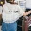 Lady Ribbon Lace and Chiffon Shirt ขายส่งเชิ้ตผ้าชีฟอง thumbnail 5