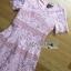 Lady Ribbon Online ขายส่งเสื้อผ้าออนไลน์ Lady Ribbon พร้อมส่ง LR18040816 &#x1F380 Lady Ribbon's Made &#x1F380 Lady Carly Feminine Pinky Striped Lace Maxi Dress เดรสยาวผ้าลูกไม้สี thumbnail 6