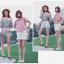 เสื้อแฟชั่นเกาหลีลายสก็อตมี 2 สี thumbnail 4