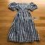 Checked Dress Lady Ribbon ขายเดรสผ้าคอต thumbnail 6