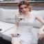Lady Ribbon Lady White Lace Dress ขายเดรสผ้าลูกไม้ thumbnail 3
