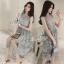 Lady Ribbon Online เสื้อผ้าแฟชั่นออนไลน์ขายส่ง เลดี้ริบบอนของแท้พร้อมส่ง sevy เสื้อผ้า SV12240716 BEST SELLER-Restock &#x1F389Sevy Sleeveless Vintage Hollow Lace Dress thumbnail 2