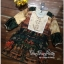 Lady Ribbon Online ขายส่งเสื้อผ้าออนไลน์ Very very pretty เสื้อผ้า VP05100816 Smart Vintage community Printed Blouse thumbnail 4