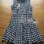 Checked Printed Apron Dress เดรสทรงเอพรอนพิมพ์ลายสก็อตสีขาว-ดำ thumbnail 6