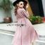 Lady Ribbon ขายเดรส Pink Denim Dress thumbnail 4