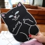 เคสซิลิโคน แมวดำ แมวขาว (เคส iPad Air 2) thumbnail 2