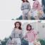 เสื้อแฟชั่นเกาหลีลายสก็อตมี 2 สี thumbnail 8