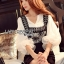 Lady Ribbon Dress Set ขายส่งเซ็ตเสื้อผ้าคอตตอน thumbnail 3