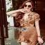 Crepe Lady Ribbon Mini Dress มินิเดรส thumbnail 5