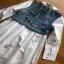 Lady Ribbon Cotton Shirt ขายส่งเชิ้ตเดรส thumbnail 6