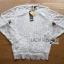 Lady Ribbon Online ขายส่งเสื้อผ้าออนไลน์ ขายส่งของแท้พร้อมส่ง Lady Ribbon LR02050716 &#x1F380 Lady Ribbon's Made &#x1F380 Lady Becca Smart Elegant High-Neck White Lace Blouse thumbnail 6