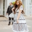 Lady Ribbon Lace Shirt Dress เชิ้ตเดรสผ้าลูกไม้สีขาว thumbnail 3