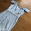Pastel Blue Strappy Dress Lady Ribbon เดรสสายเดี่ยว thumbnail 5