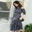 Lady Ribbon Cotton Dress ขายเดรสผ้าคอตตอน thumbnail 1