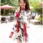 Lady Ribbon Online ขายส่งเสื้อผ้าออนไลน์ เลดี้ริบบอน LR09280716 &#x1F380 Lady Ribbon's Made &#x1F380 Lady Rosie Sunday Casual Embroidered Cotton Blouse with Tassels thumbnail 4