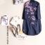 เสื้อผ้าแฟชั่นเกาหลีZara เสื้อคอจีนผ้าคอตตอน thumbnail 5