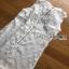 Lady Ribbon Embroidered White Chiffon with Ribbon thumbnail 8