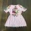 ชุดเดรสสีชมพูฟ้าลายริ้วทรงตุ๊กตา thumbnail 7