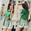 Lady Ribbon Online ขายส่งเสื้อผ้าออนไลน์ เสื้อผ้า Sevy SV10030816 &#x1F389Sevy Play Sport Green Tassel Sleeveless T-Shirt thumbnail 4