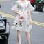 Lady Ribbon Online เสื้อผ้าออนไลน์ขายส่ง Normal Ally เสื้อผ้า NA13150816 &#x1F389Normal Ally Present flower print summer dress&#x1F389 thumbnail 3