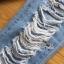 Lady Ribbon Online ขายส่งเสื้อผ้าออนไลน์เลดี้ริบบอน LR07010816 &#x1F380 Lady Ribbon's Made &#x1F380 Lady Elina Washed Ripped Skinny Jeans กางเกงยีนส์ thumbnail 4
