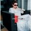White Lady Ribbon Cotton Dress ขายเดรสผ้าคอตตอน thumbnail 5