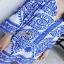 Lady Ribbon Crepe Blouse เสื้อผ้าเครปสีoff white thumbnail 3