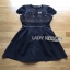 Lady Ribbon Lace and Cotton Midi Dress thumbnail 6
