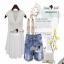 Lace Shorts Sets งานเซ็ทลุคสาวเก๋สบายๆ แบบชิลล์ๆ ตัวเสื้อสวยหวานสไตล์สาวเกาหลี thumbnail 2