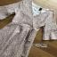 Lady Ribbon Dress with Ribbon เดรสผ้าลูกไม้สีชมพูอ่อน thumbnail 6