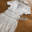 Lady Ribbon Sweet White Lace Shirt Dress thumbnail 8