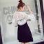 Lace Dress เดรสผ้าลูกไม้สีขาว thumbnail 5