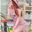 Mini Dress Lady Ribbon ขายมินิเดรส thumbnail 4