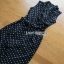 Lady Ribbon Black and White Polkadot Jumpsuit จัมป์สูทผ้าเครป thumbnail 6